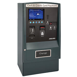 AMG-7800 Series Pay-on-Foot Central Pay Station