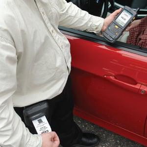 Amano McGann Wireless Event Parking System
