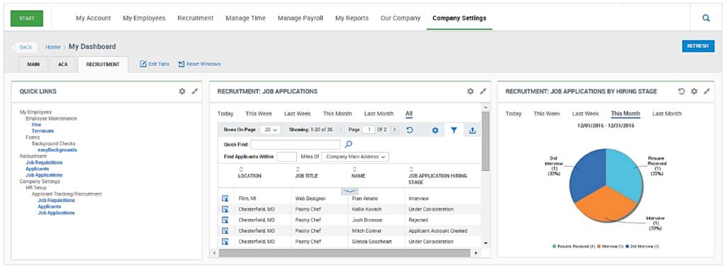 HR Talent Acquisition Dashboard