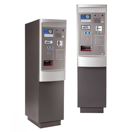 OPUS-4800 Series Credit Card Pay-on-Foot Station