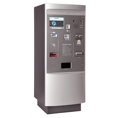 OPUS-7700 Series Pay-in-Lane Exit Station