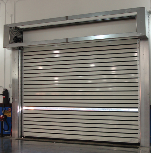 Rytec Spiral High Performance Rigid Rolling Door